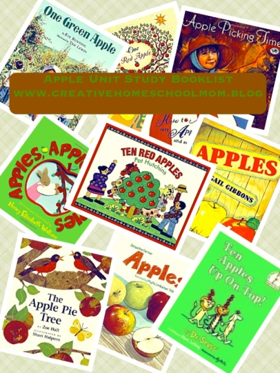 Apple Unit Study Booklist