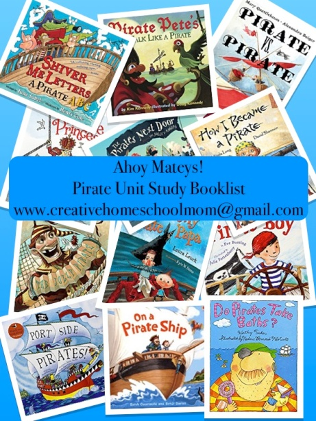 Pirate Unit Study Booklist