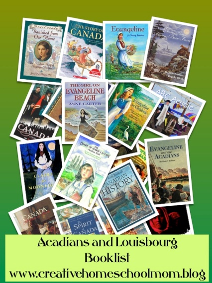 Acadians and Louisbourg Booklist