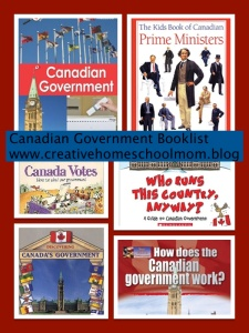 Canadian Government Booklist
