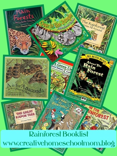 Rainforest Booklist