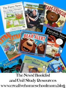 The News! Booklist and Unit Study Resources