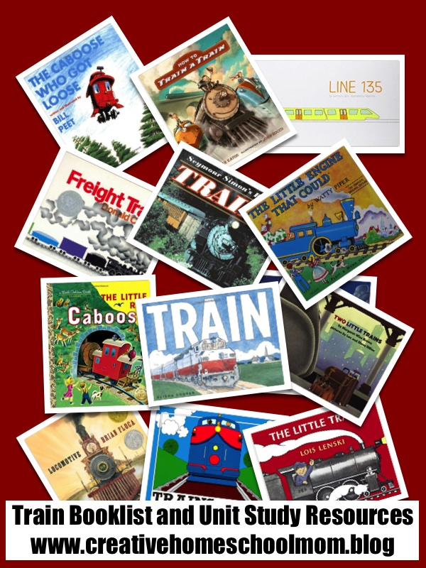 Train Booklist and Unit Study Resources