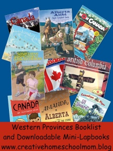Western Provinces Booklist